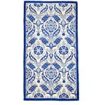 """Suzani Hand-Knotted Rug - 4'2"""" x 7'10"""""""