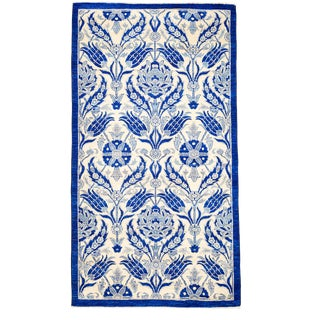 "Suzani Hand-Knotted Rug - 4'2"" x 7'10"""
