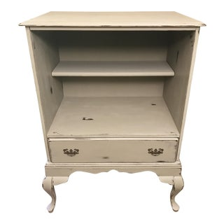 Queen Anne Bookshelf Cabinet
