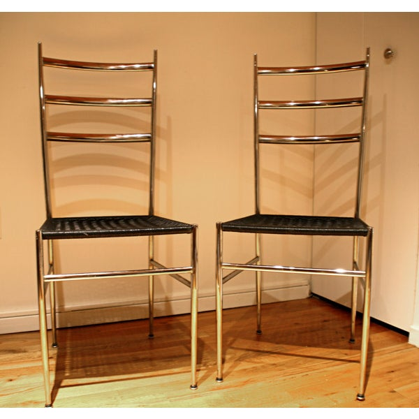 Ponti / Starck Superleggera Ladderback Chairs - 2 - Image 3 of 5