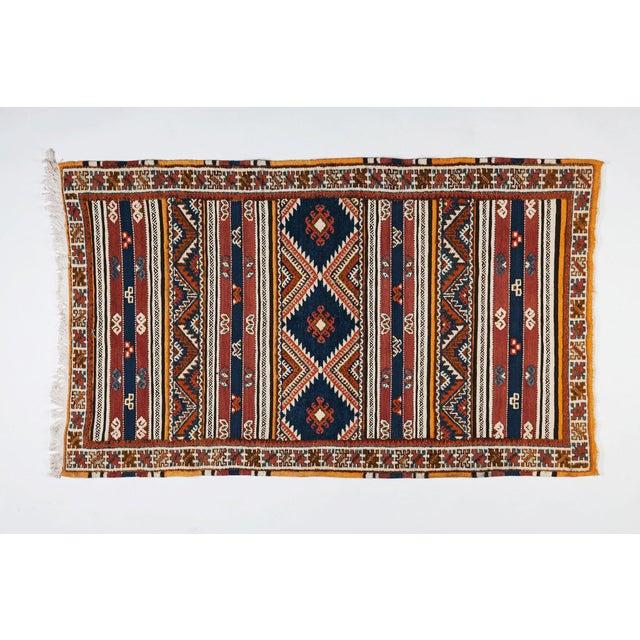 Hand Woven Moroccan Berber Rug 211 63 Chairish