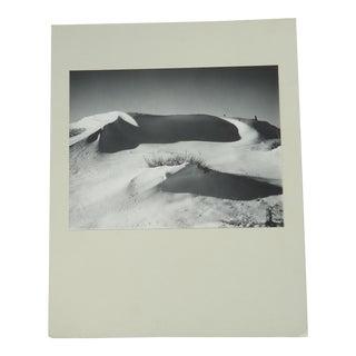 Mid-Century Snow on the High Plains Landscape Photograph