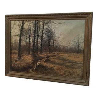 Olof Jernberg Landscape Painting