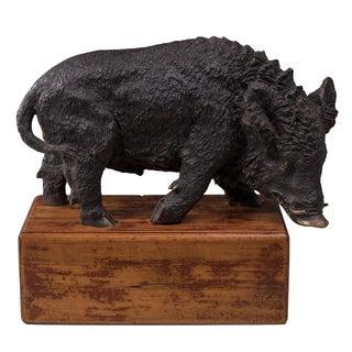Sarreid LTD Cast Bronze Wild Boar