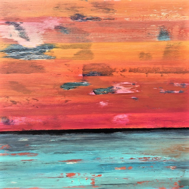 Original Contemporary Abstract Painting - Image 4 of 4