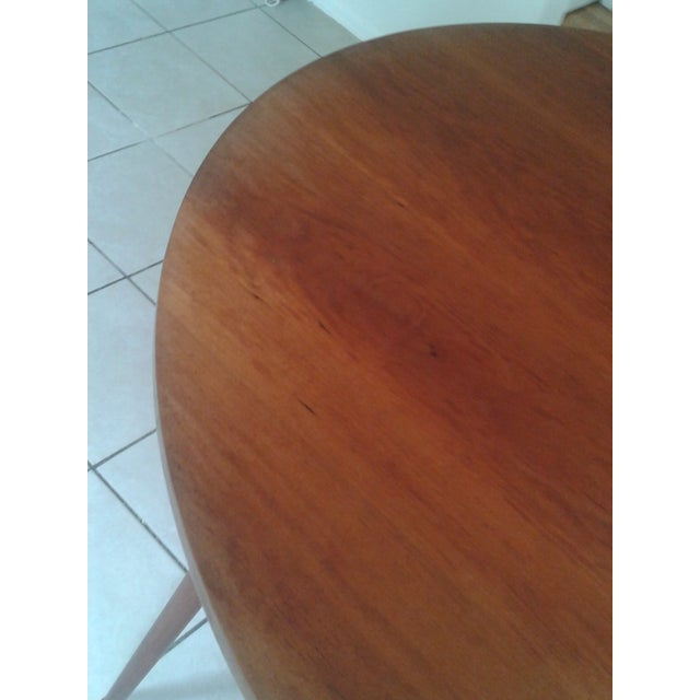 Thos Moser Round Dining Table - Image 7 of 10
