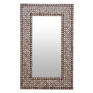Exquisite Geometric Inlaid Body Mirror
