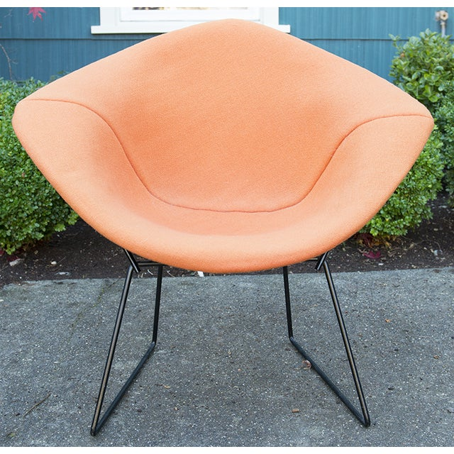Vintage Harry Bertoia Diamond Chair by Knoll - Image 3 of 9