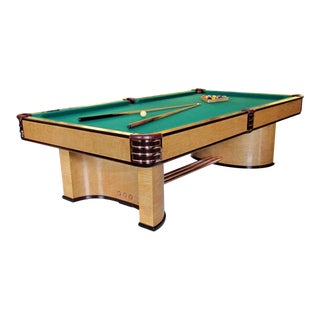 Donald Deskey Designed Brunswick Paramount Pool Table