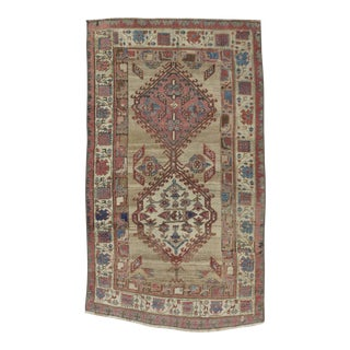Antique Distressed Persian Rug - 2′11″ × 5′3″