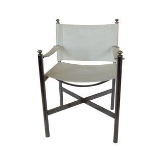 Vintage Mid Century Modern Safari Style Chair