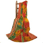 Image of Vintage Red & Yellow Turkish Kantha Quilt