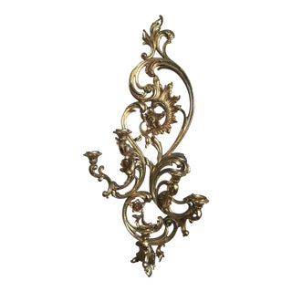 Syroco Hollywood Regency Wall Sconce