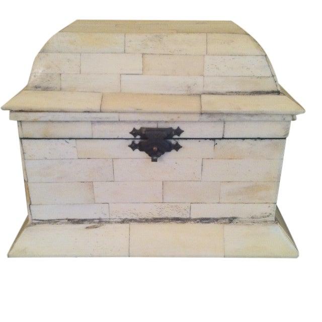Bone Inlay Box - Image 1 of 4