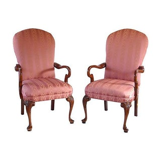 Classical Style Armchairs - Pair