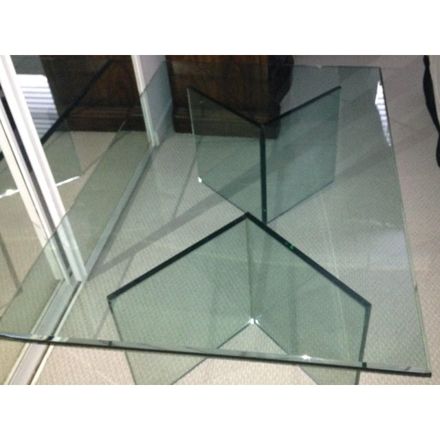3 Piece Glass Coffee Table - Image 2 of 4