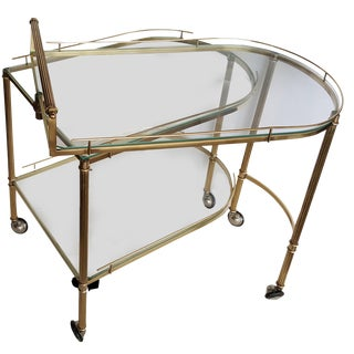 Italian Articulate Bar Cart