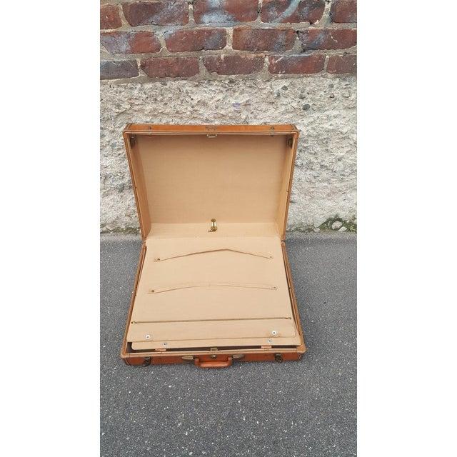 Vintage Samsonite Leather Suitcase - Image 5 of 5