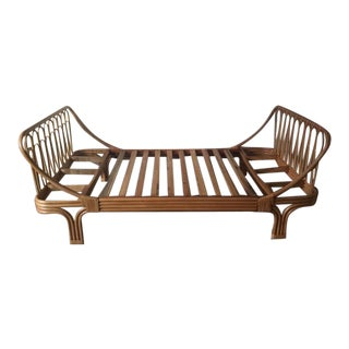 Boho Chic Rattan Twin Bed