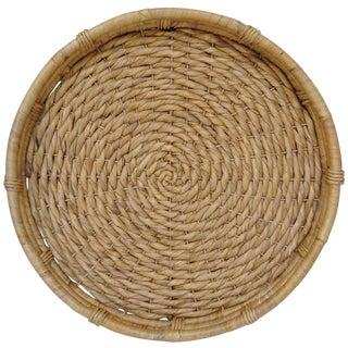 Oversize Woven Grass Hanging Basket