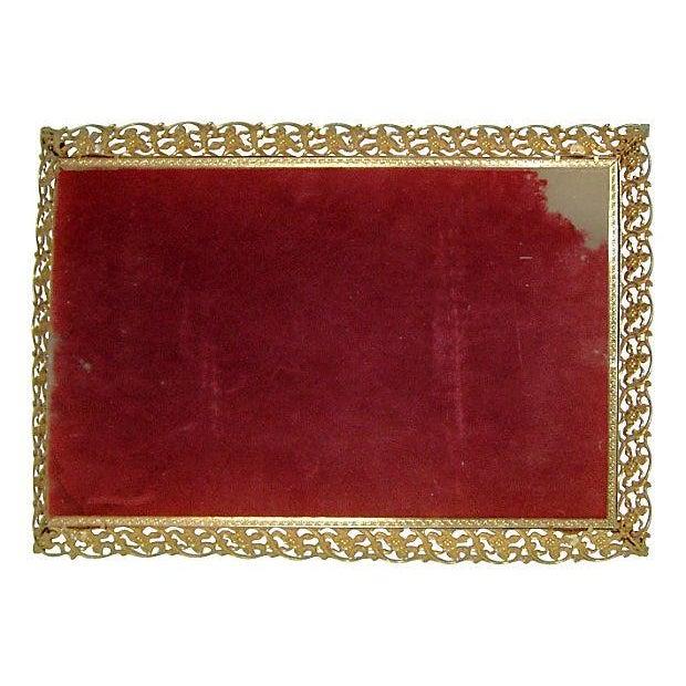 Image of Hollywood Glam Filigree Vanity Tray