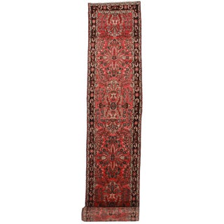 "RugsinDallas Antique Persian Mehraban Runner - 2'9"" X 20'11"""
