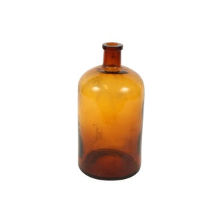 French Brown Apothecary Jar