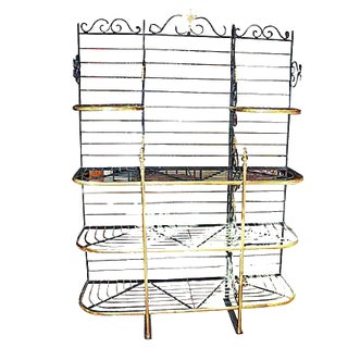 Wrought Steel Baker's Rack
