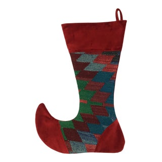 Large Kilim Christmas Stocking | Donner
