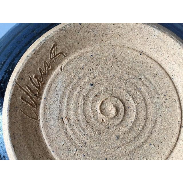 Signed Gerry Williams Mid-Century Stoneware Bowl - Image 4 of 5