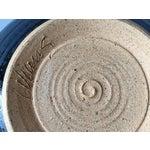 Image of Signed Gerry Williams Mid-Century Stoneware Bowl