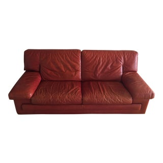 Roche Bobois Leather Sofa
