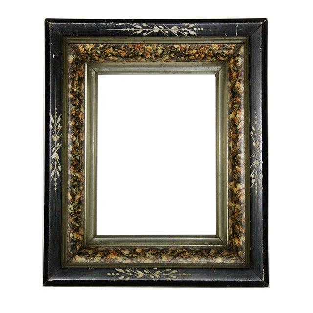 Antique American Ebonized Wood Frame - Image 1 of 5