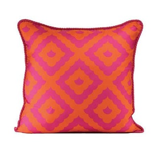 Amalfi Pillowcase in Hot Pink