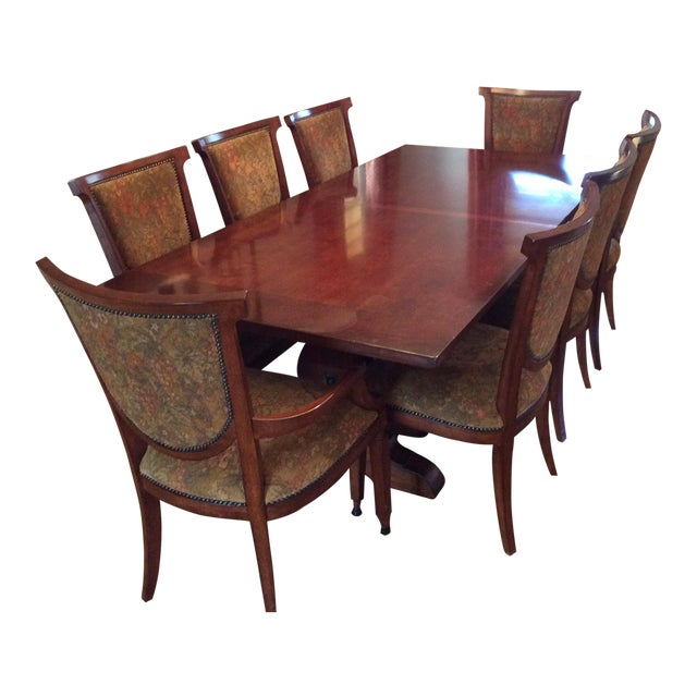 Bernhardt Dining Table And 8 Chairs