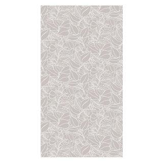 Dove Grey Garden Wall Wallpaper - Double Roll
