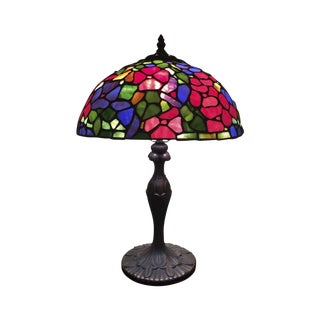 Tiffany-Style Mosaic Shade Table Lamp
