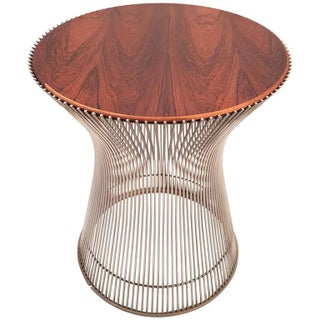Brazilian Rosewood Warren Platner Side Table