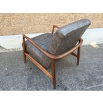 Image of Mid Century Custom Lounge Chairs - Pair