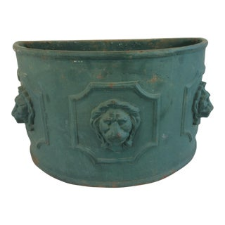 Heavy Cast Iron Planter