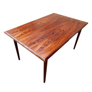 Extendable Danish Rosewood Dining Table, Ca. 1960