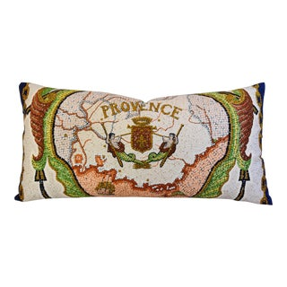 Custom Tailored Hermes Hugo Grygkar Provence Silk Pillow
