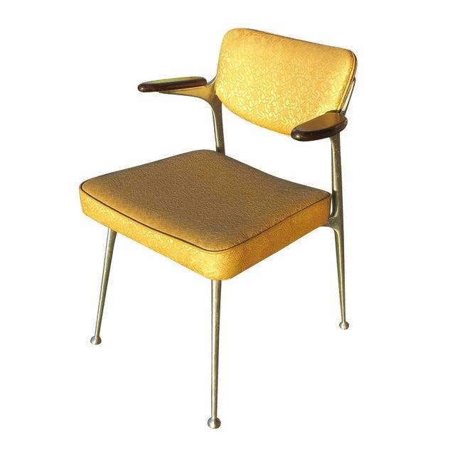 Aluminum Gazelle Armchairs- Set of 4 - Image 4 of 8