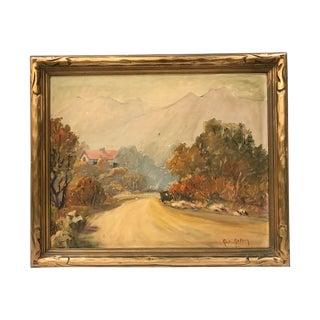 Vintage Mountain & Landscape Scene