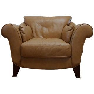 Capri Italian Leather Chair