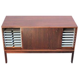 Danish Rosewood Filing Cabinet or Credenza
