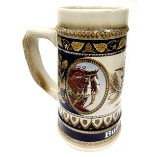 Vintage Anheuser Busch Stoneware Beer Stein