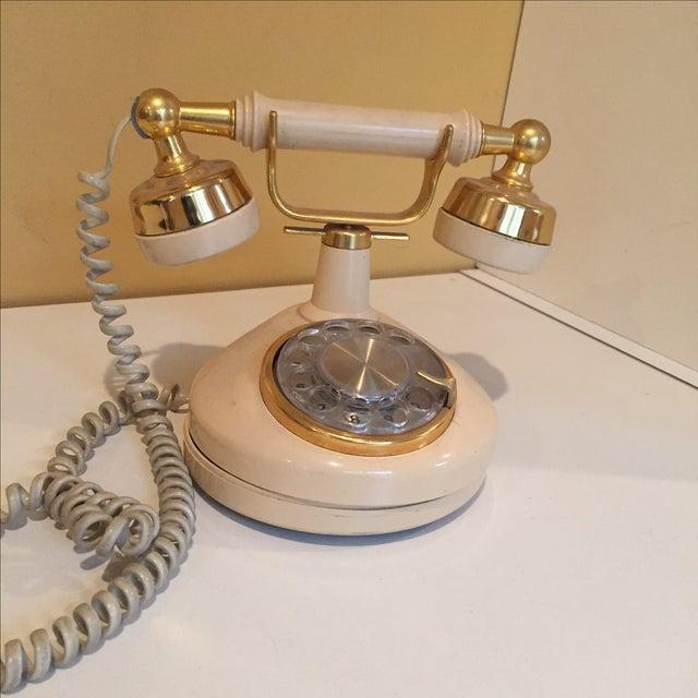 Vintage Hollywood Regency Phone - Image 2 of 4