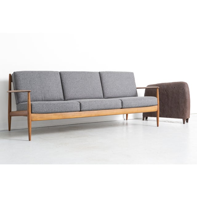 Grete Jalk for France + Daverkosen Teak Wood Sofa - Image 10 of 10