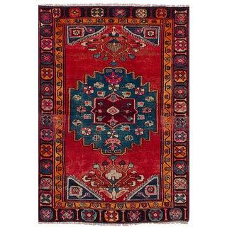Ruby Jean Vintage Tribal Persian Rug - 4′3″ × 6′5″